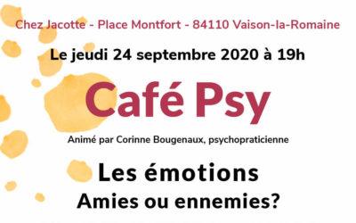 Un Café Psy, ça vous dit?